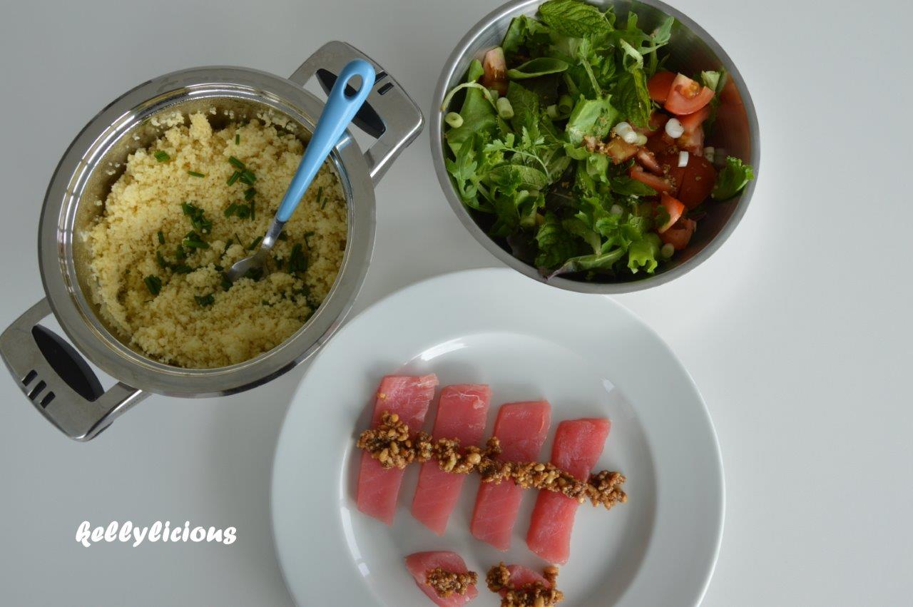 Photo of Tonijn met balsamicotapenade