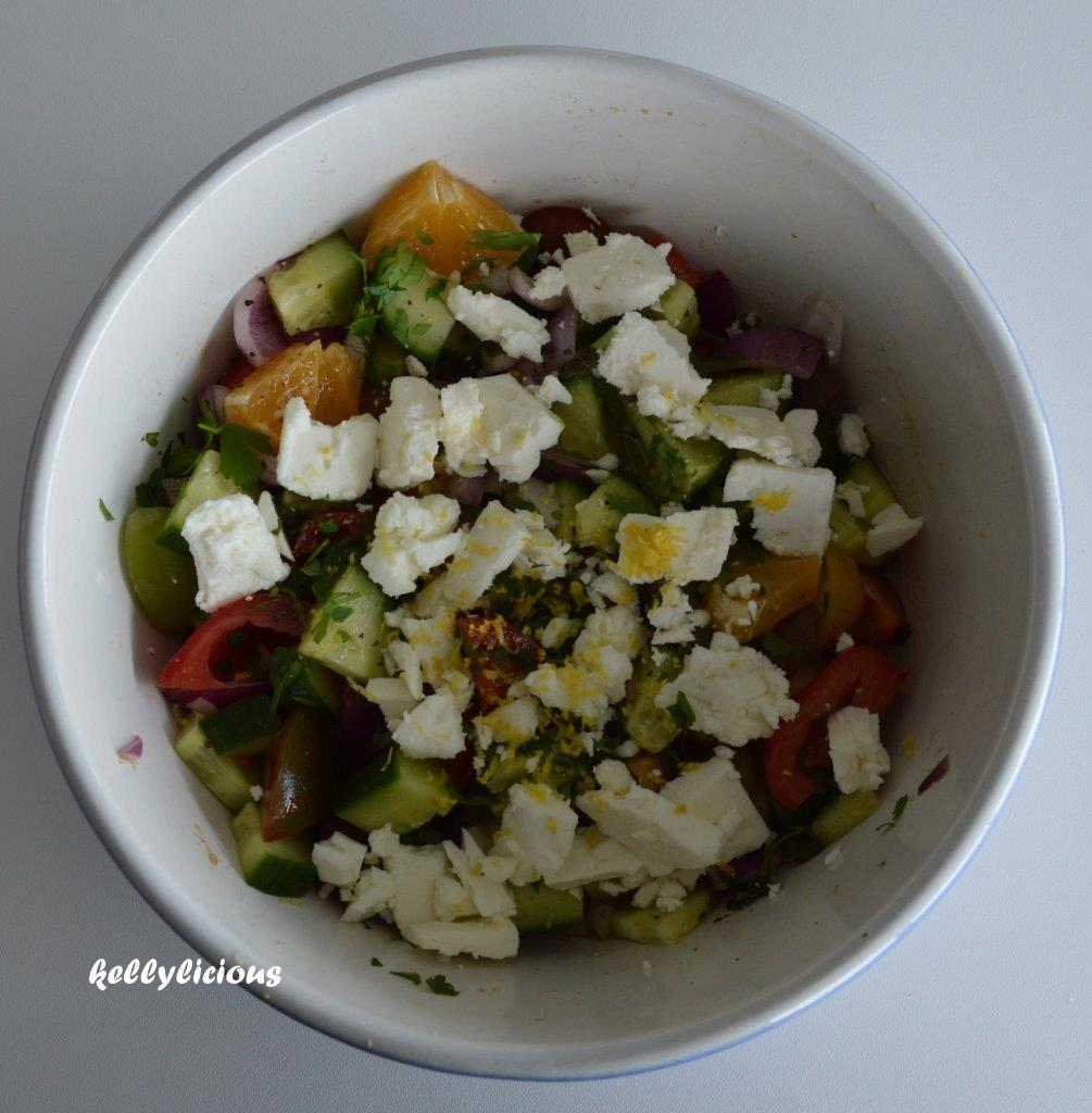 Photo of Marokkaanse salade