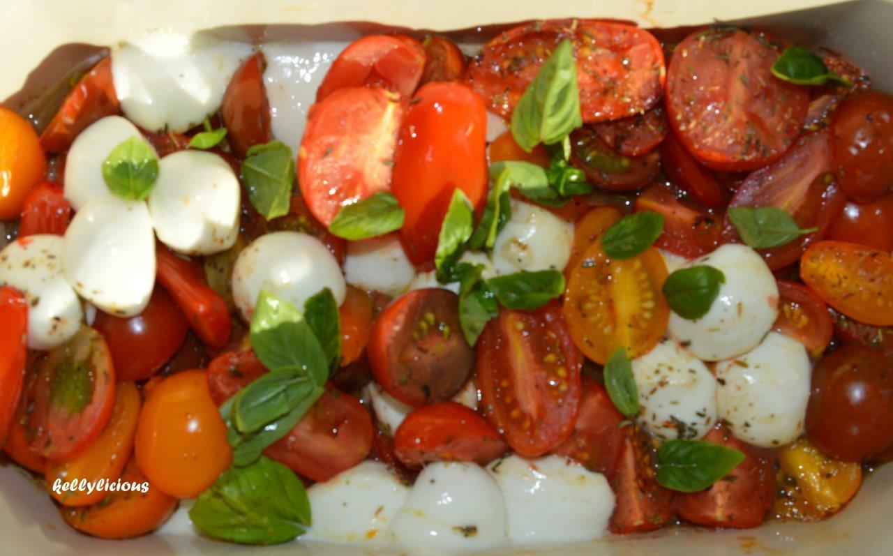 Photo of Tomaat/mozarella in de oven