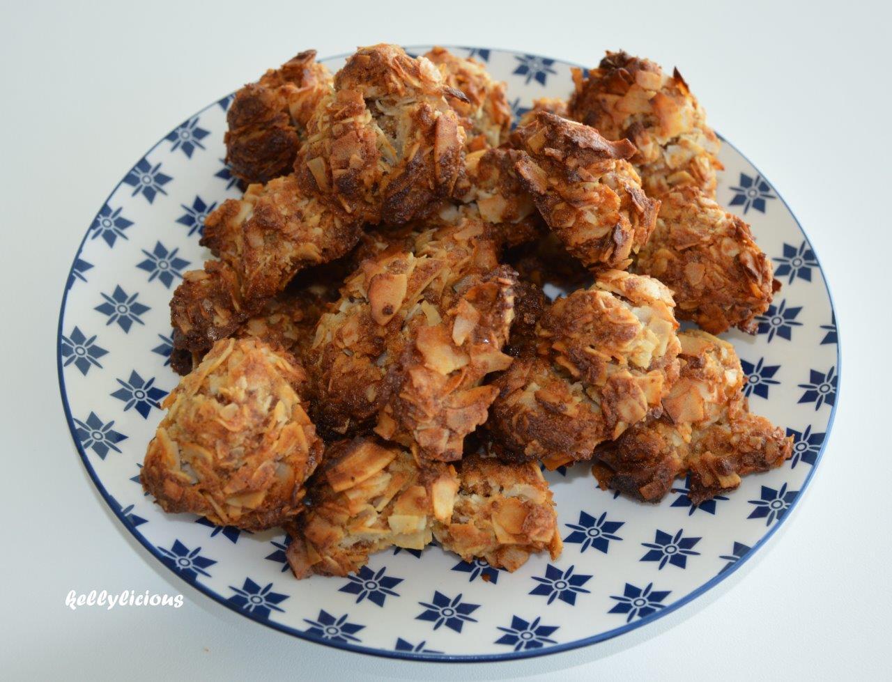 Photo of Heerlijk tussendoortje, kokoskoekjes