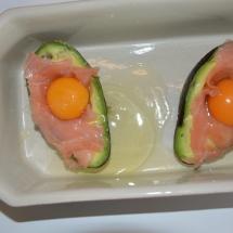 avocado zalm ei