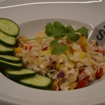 aziatische groentenschotel klaar