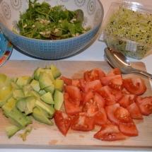 groentjes snijden