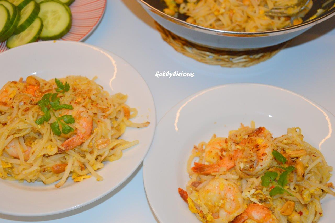 Photo of Pad thai met scampi