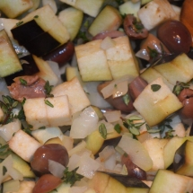 pikante couscous met feta