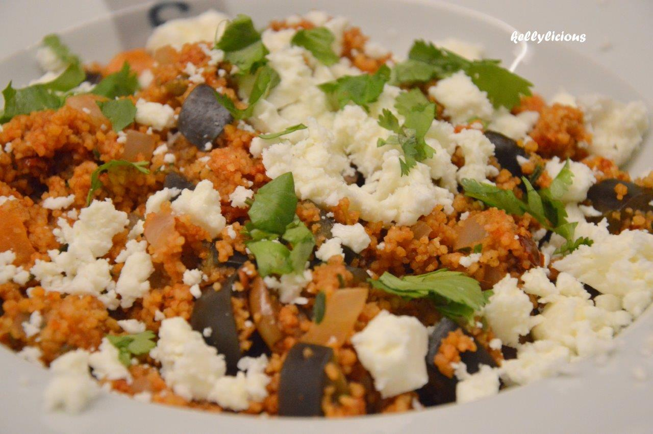 Photo of pikante couscous met feta