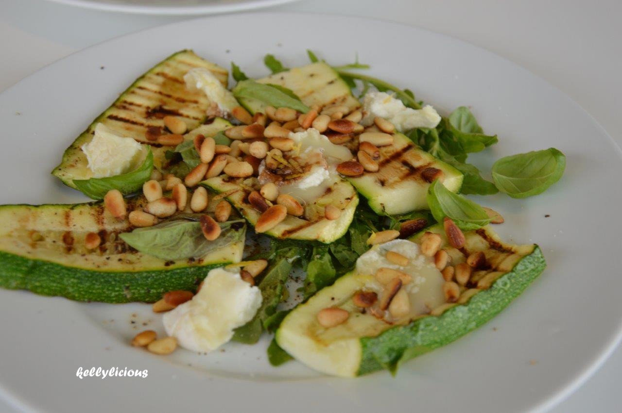 Photo of Gegrilde courgette