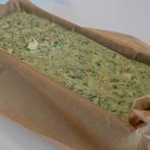 spinaziecake met geitenkaas