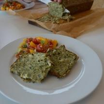 recept spinaziecake met geitenkaas