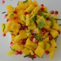 hapje mango garnaal