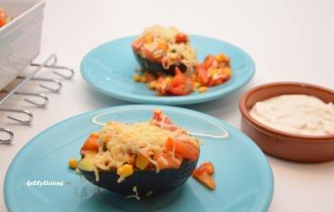 mexicaans gevulde avocado