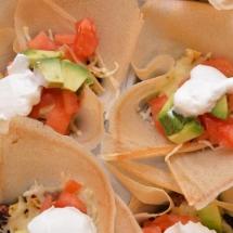 mini taco's
