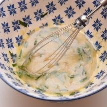 salade van rode biet met merguez