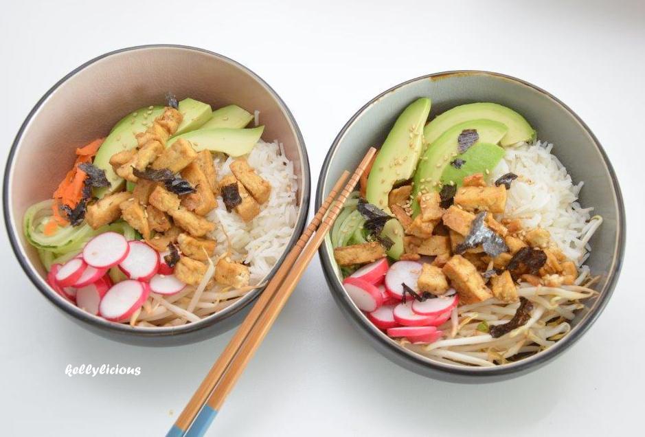 Photo of Vegetarische bowl