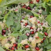 munt-granaatappelsalade