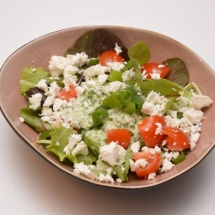 Komkommersalsa met feta