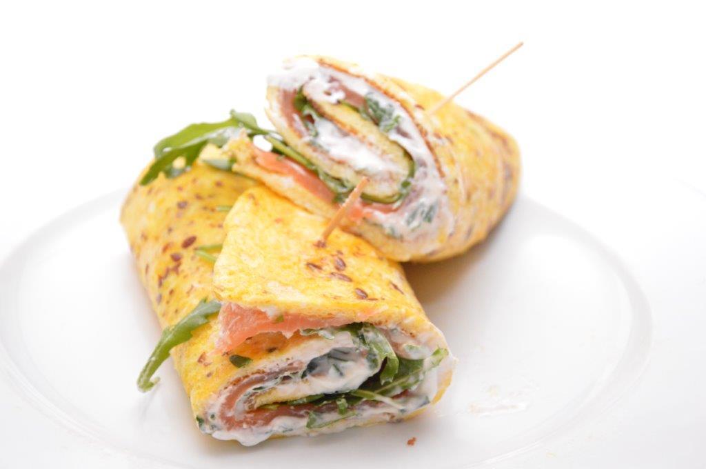 zalm-omeletwrap